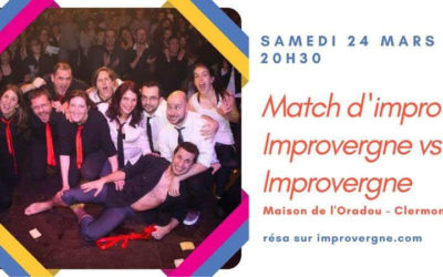 Match d'improvisation Improvergne vs Improvergne