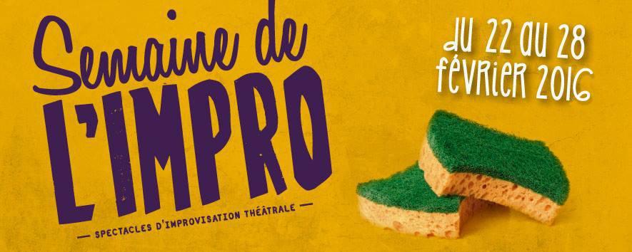 C'est la 5ème édition de la Semaine de l'Impro !