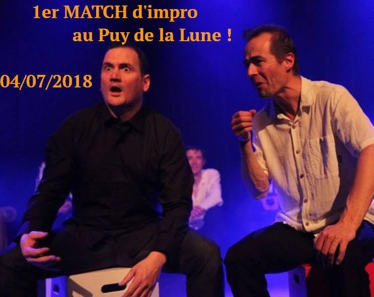 1er Match d'impro au Puy de la Lune