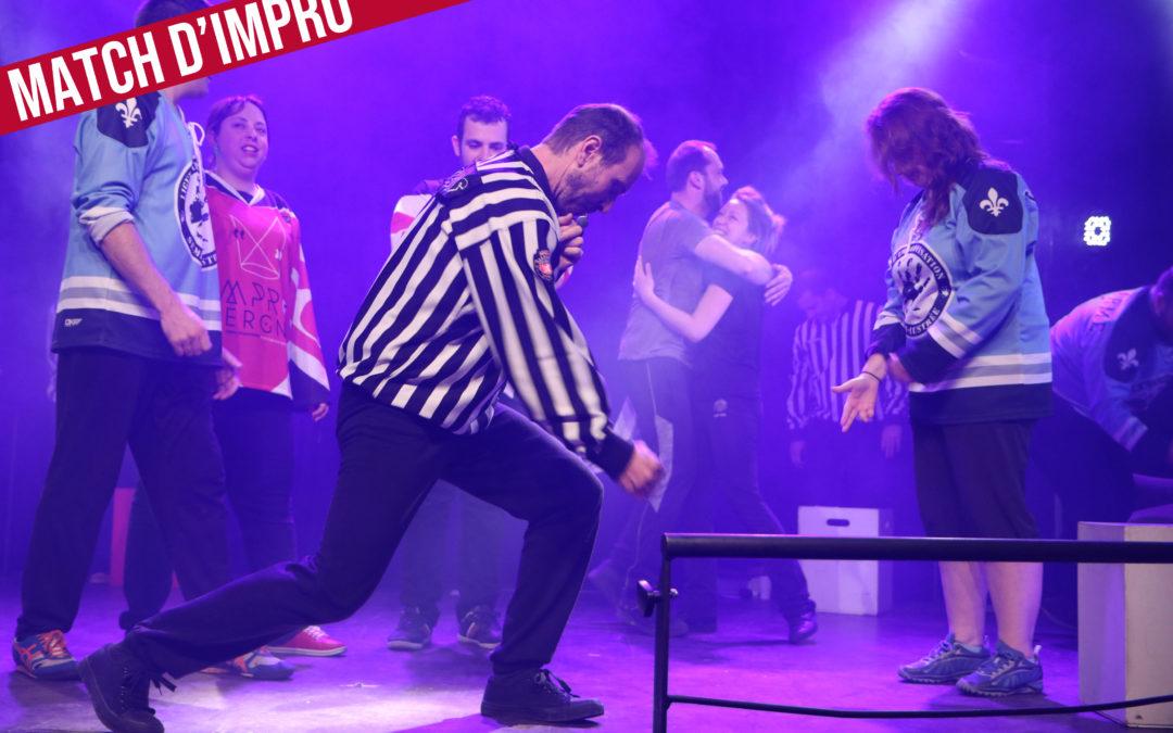 Match d'impro Improvergne vs ATACOOL (Orléans)