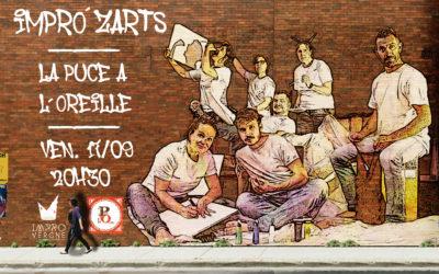 Nouveau spectacle : Impro'ZARTS vendredi 17/09