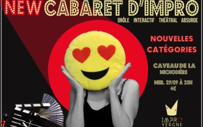 NEW Cabaret d'impro – Mercredi 29/09